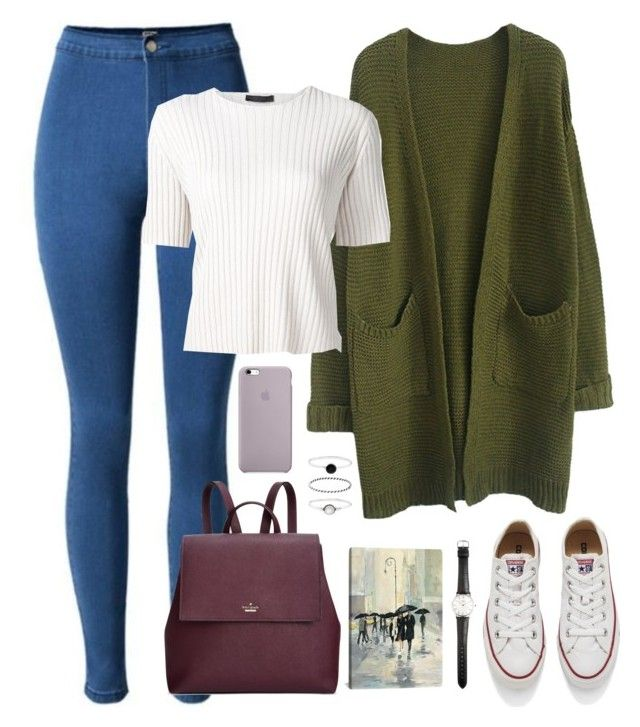 """""""Back to school BTS inspired // Jin"""" by berrie95 ❤ liked on Polyvore featuring The Row, Kate Spade, Converse, Accessorize, Ole Mathiesen, iCanvas, BackToSchool, bts, jin and kpopoutfits"""