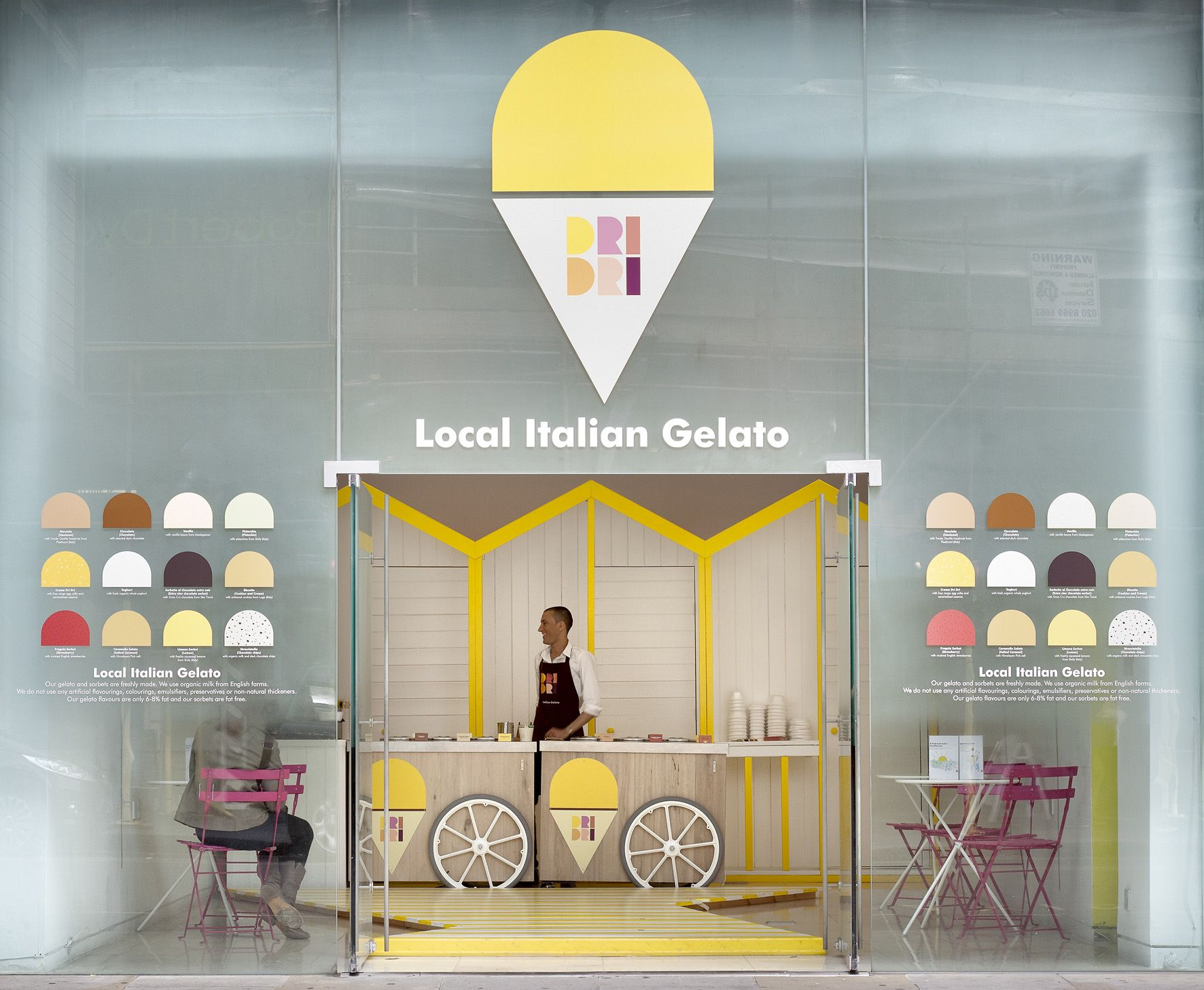 c8162ee2808 Watch out for Dri Dri's colourful seaside Italian gelato shop. All Photo  Credits: Elips Design. Last year it was in the design pop up spot Front  Room of St. ...