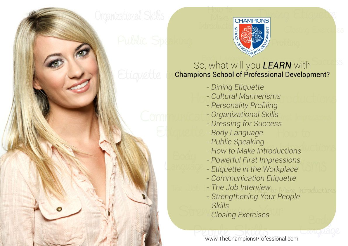 So You Ask What Will I Learn With Champions School Of