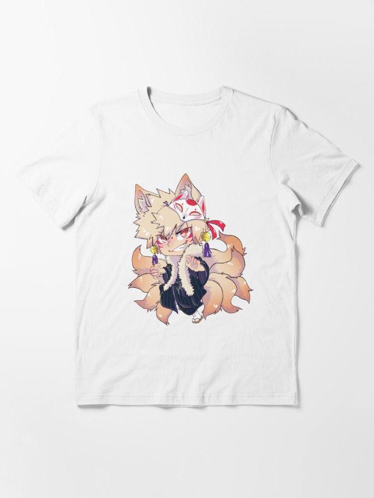 Bukkitbrown Kitsune Baku Art Collab With Viodino T Shirt By Bukkitbrown Redbubble T Shirt Kitsune Shirts
