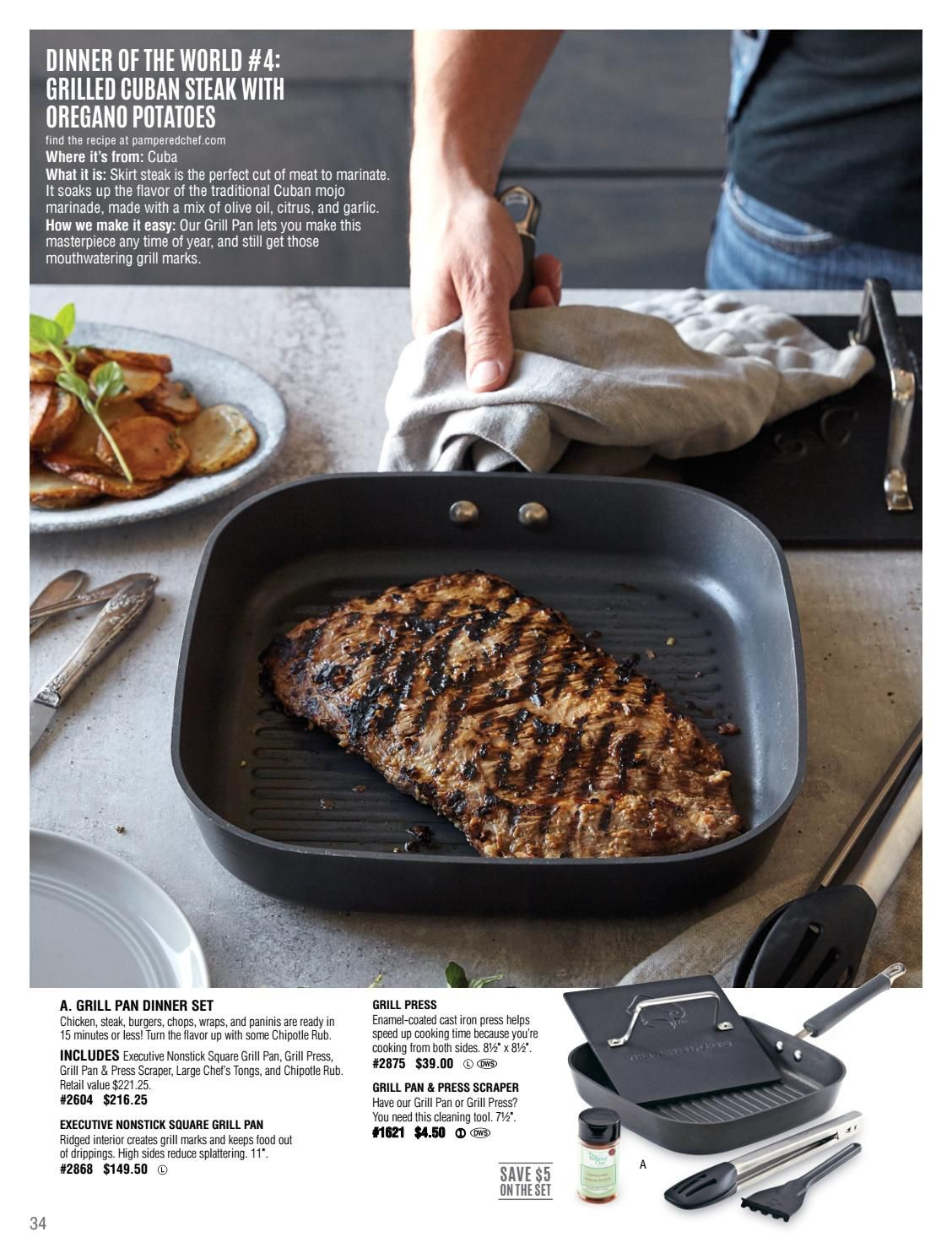 Fall Winter 2016 Catalog Pampered Chef Recipes Pampered Chef Skirt Steak