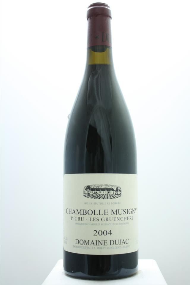 Domaine Dujac Chambolle Musigny Les Gruenchers 2004 France Burgundy Chambolle Musigny Premier Cru 6 Bottles A 0 75l Price Realized 9 Vin Bourgogne Vins