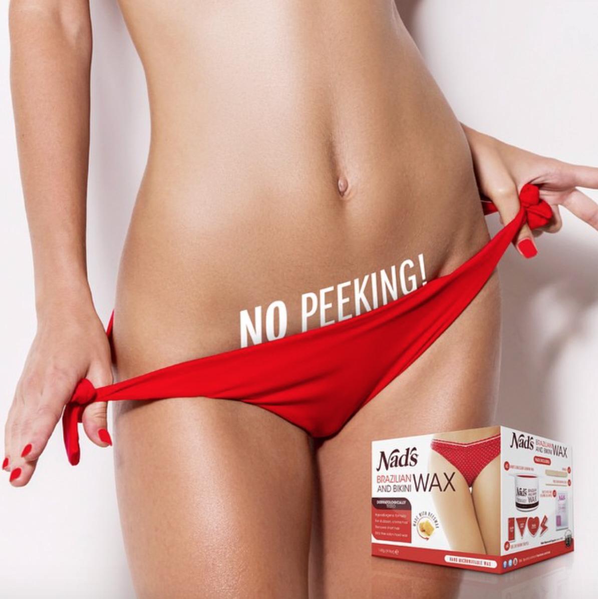 Are bikini nads wax assured, that