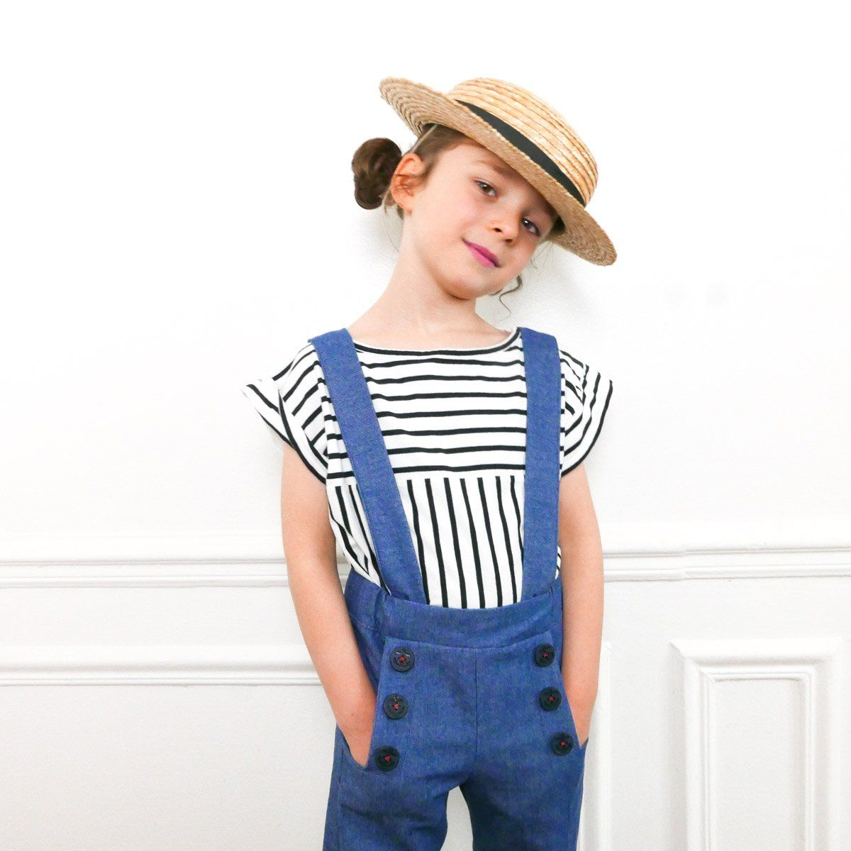 699b776197474 Patron de couture Pantalon ou Short large AVANA PDF 3-12A – ikatee ...