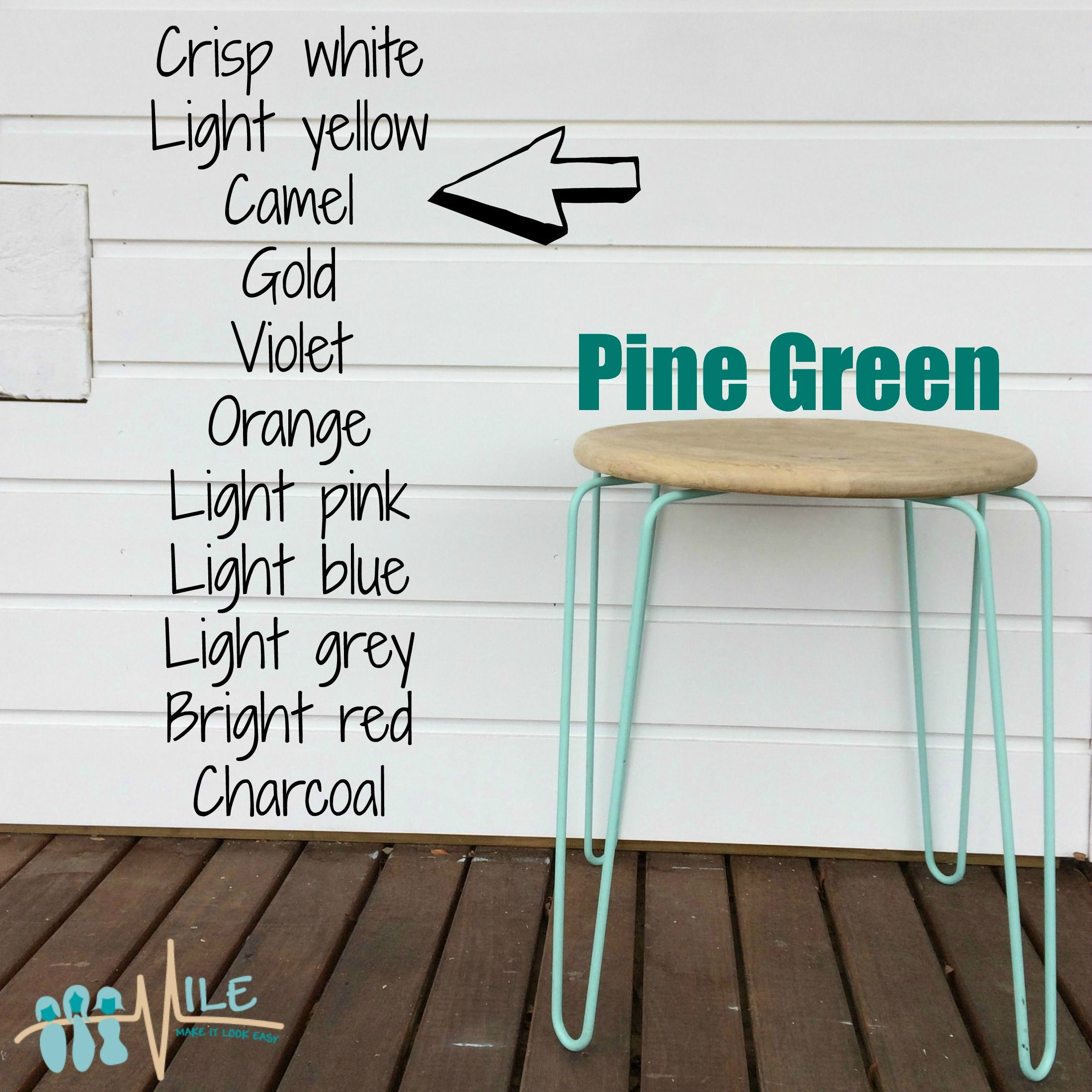 Pine Green Goes With