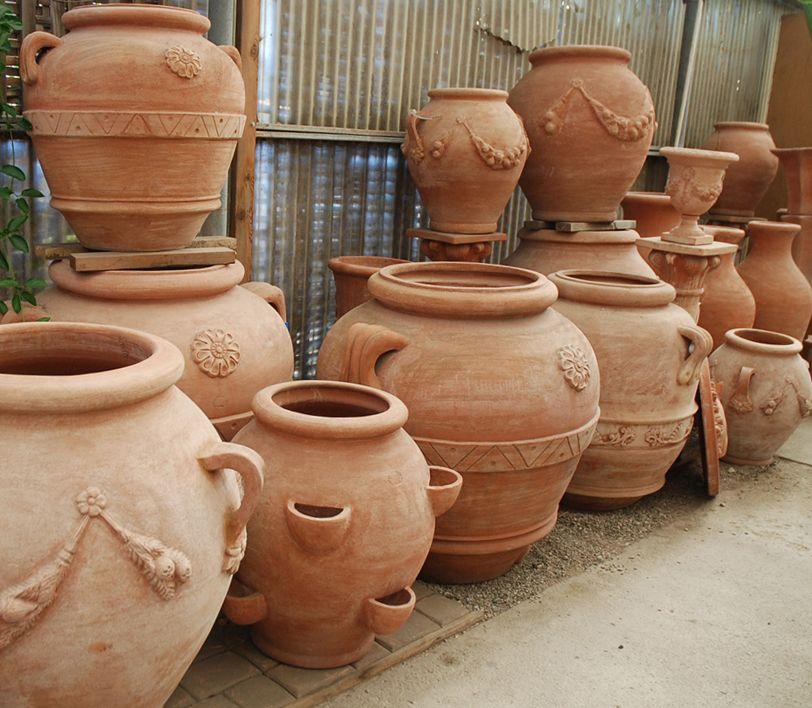 Terra Cotta Planters Pots Antique