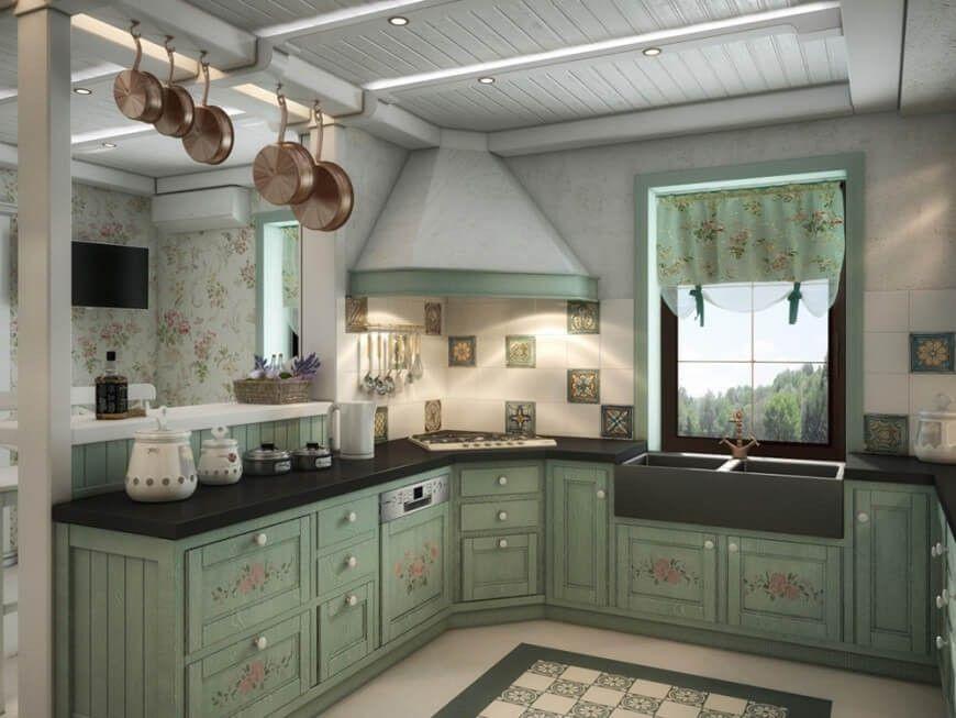 Die Küche bietet auch eine einzigartige Fliesen Backsplash mit - fliesen küche modern