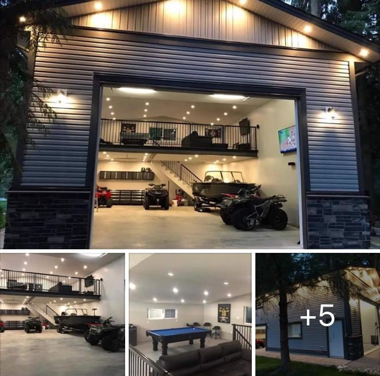 Pro Tips For Planning Your Dream Garage: Garage House, Garage Loft, Home