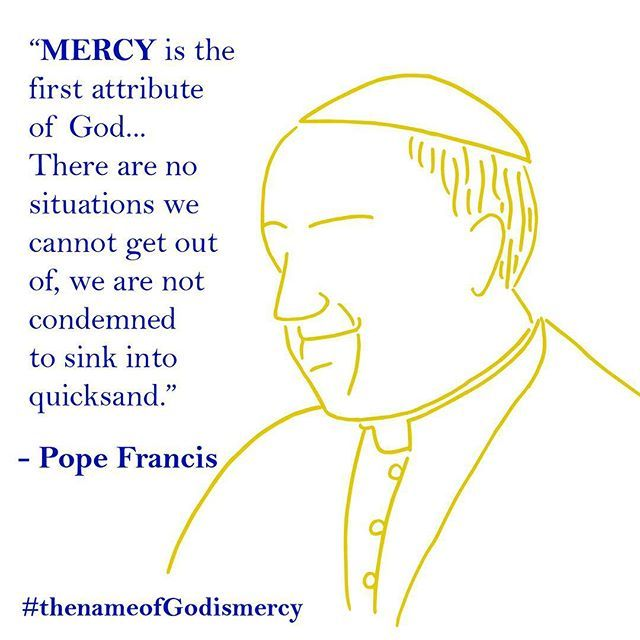 An International Publishing Event The Name Of God Is Mercy By His