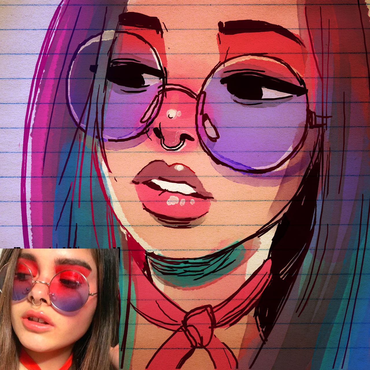 Liked The Color Scheme On This Pic So Thought I D Make A Quick Study Happy Friday Everyone Dibujar Caricaturas Produccion Artistica Dibujos Bonitos