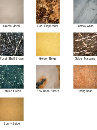 Marble Kitchen Countertops Colors