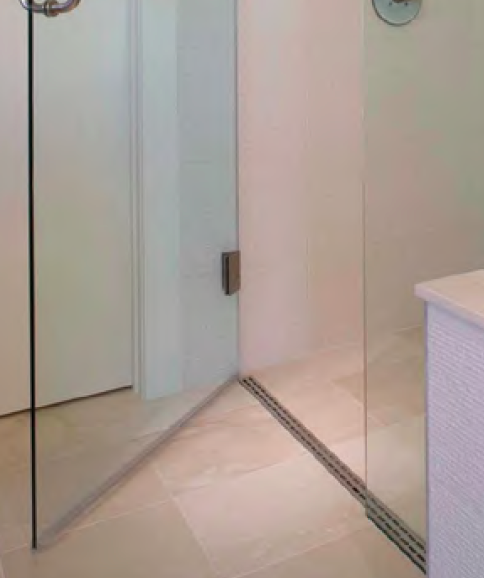 Curbless Shower Designs | Linear Drain Can Quickly Meet ADA or Universal Design Requirements
