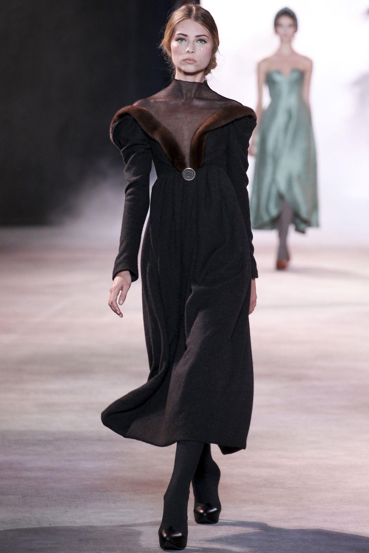 Ulyana Sergeenko Fall 2013 Haute Couture
