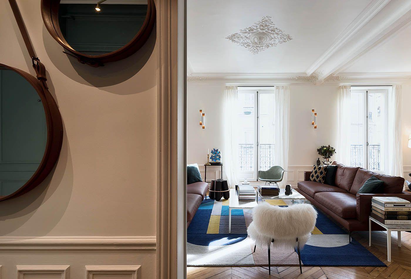 Appartement Paris 10 10surdix Amenagement Petit Appartement Appartement Paris Appartement Parisien