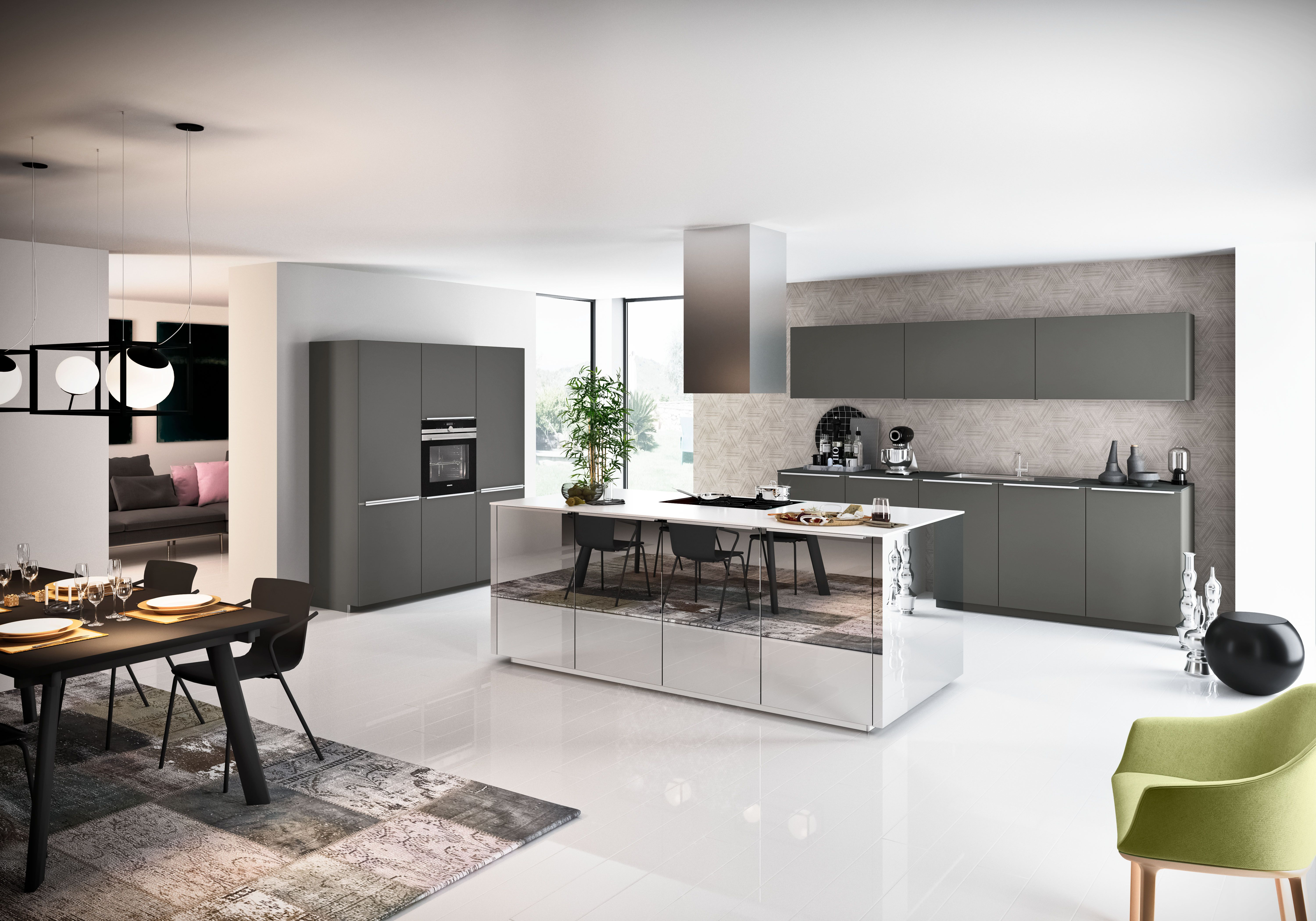 Cuisines Nolte Neo Salon Detaille Nolte Kuechen De Home Kitchen In 2019