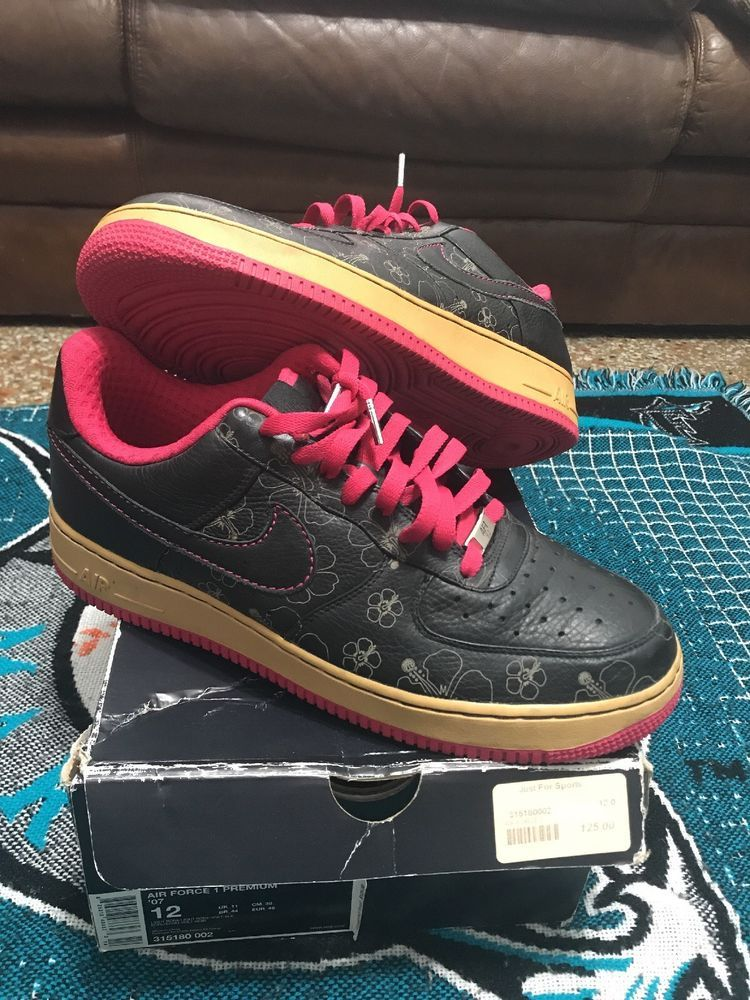 5f9876a63aec Nike Air Force 1 Premium 07  AF1 Hawaiian Hibiscus Flowers Sneaker Size  11.5  fashion