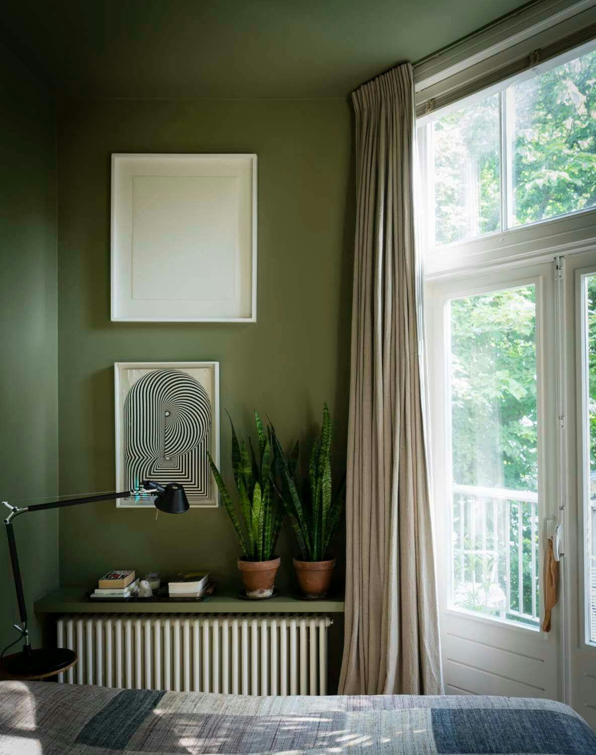 Olive Green Wall Decor Farrow And Ball Olive Business Pinterest Bedroom