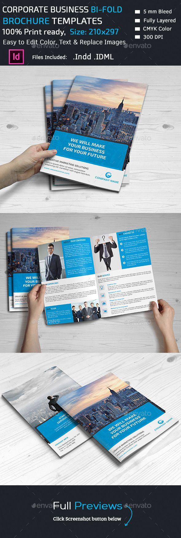 Corporate Brochure - Corporate Brochure Template InDesign INDD ...