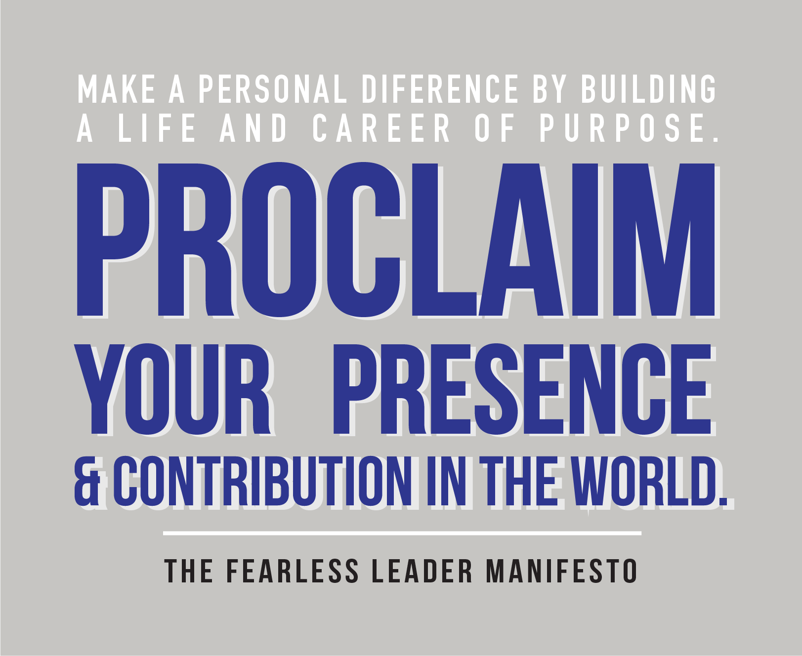 Fearless Leader Manifesto: A New Breed of Leaders | Center for Nature & Leadership