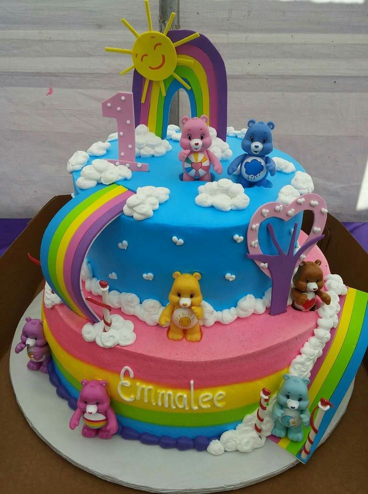 Pin by Carolyn Ridenour on Recipes to Cook | Care bear birthday ...