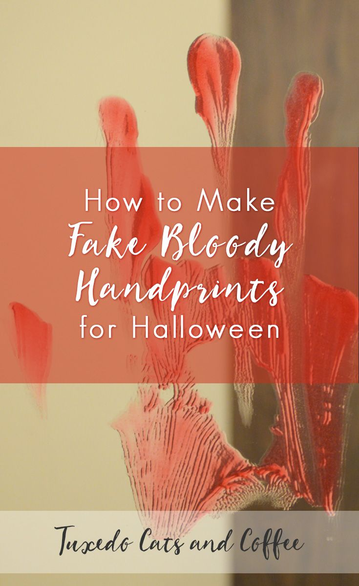 how to create bloody handprints photosohp