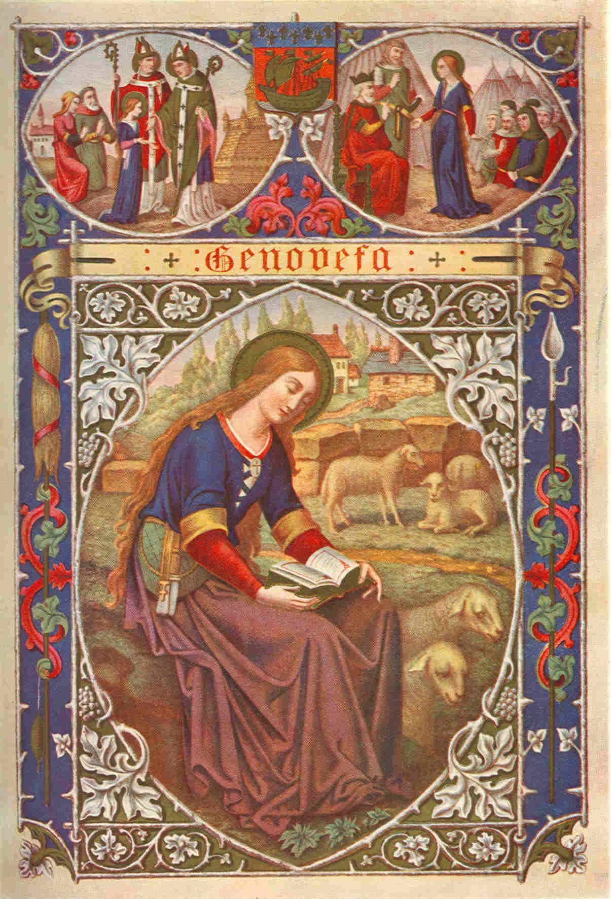 Saint Genevieve Patron Saint Of Girls