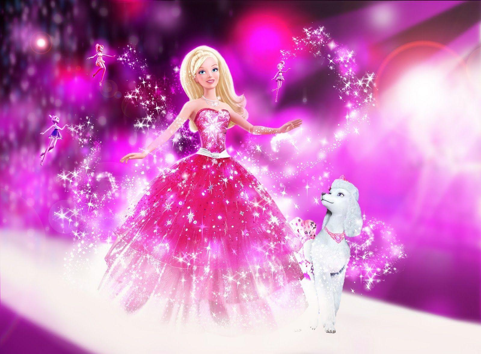Pink Barbie Doll Wallpaper Barbie Princess Barbie Movies Barbie Girl