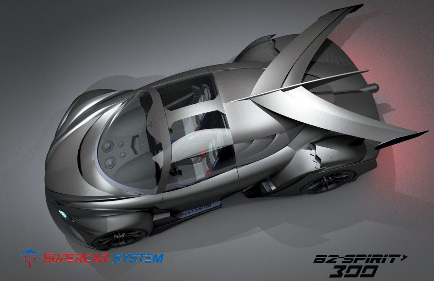 300 B 10 Super Cars System Body