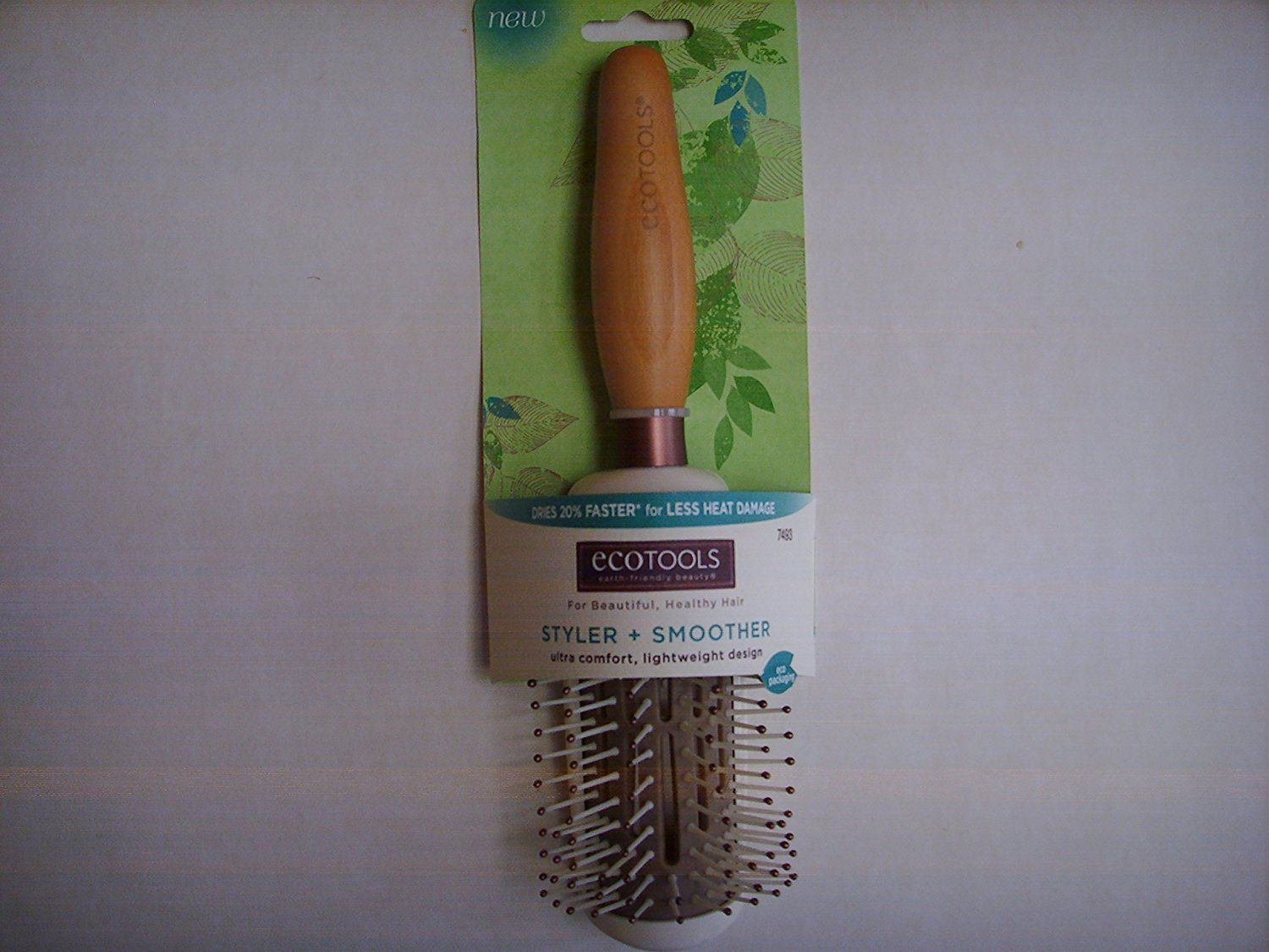 Ecotools Hair Brush with Bamboo Handle >>> This is an