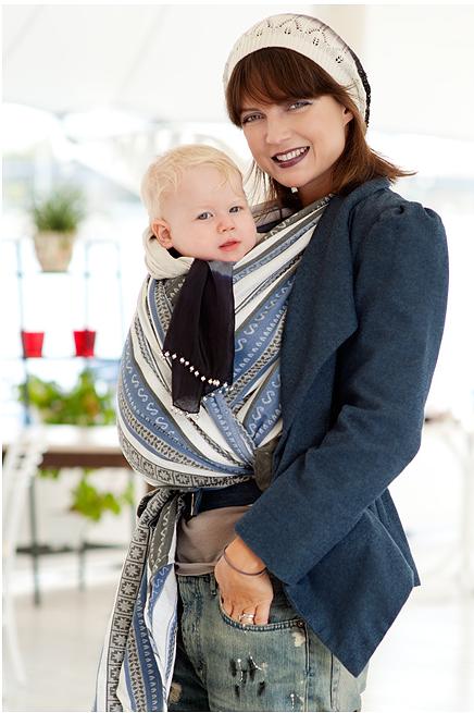 Zara Tri Blue | Woven wrap, Zara, Baby wearing wrap