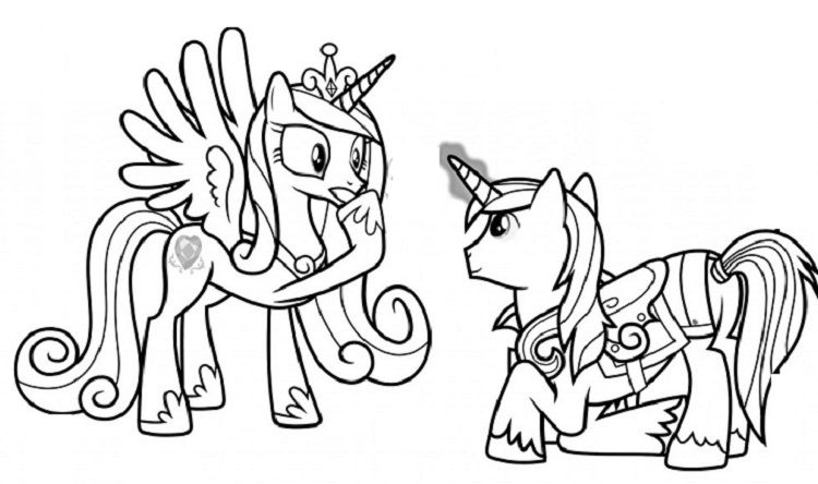 My Little Pony Coloring Pages Princess Cadence Wedding My Little Pony Coloring Coloring Books Horse Coloring Pages