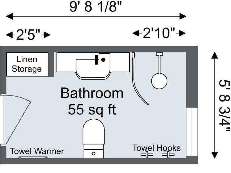 Roomsketcher Bathroom Planner 2d Floor Plan Bathroomdesign2d