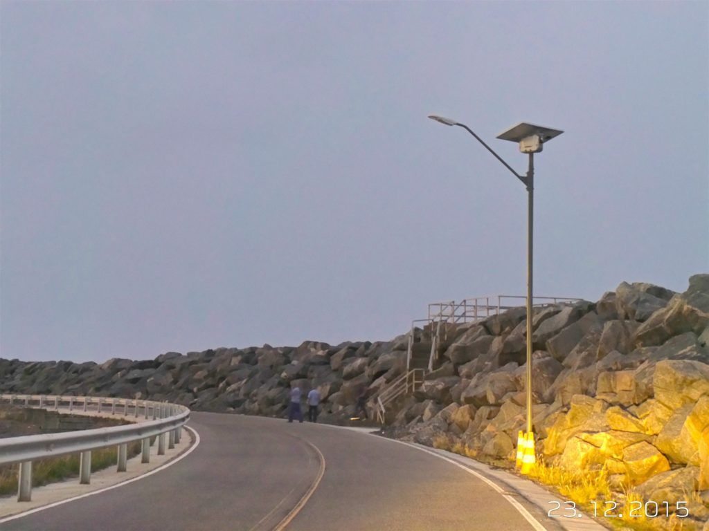 Solar Lighting System Sol By Carmanah Suape Harbor Brazil