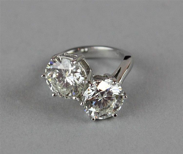 Two Stone Diamond Bypass Ring My Style Pinterest Rings Bypass