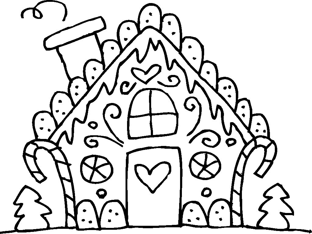 Gingerbread Man House Coloring Pages House Colouring Pages Christmas Coloring Pages Coloring Pages