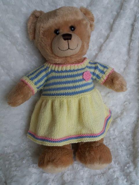 Linmary Knits Free Knitting Pattern Doll Stuff Pinterest