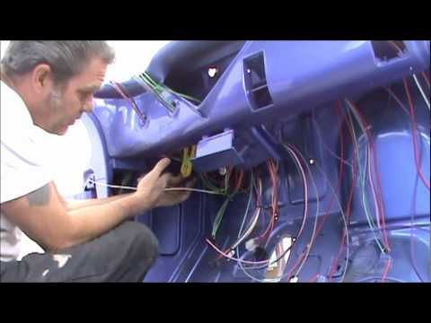 1955 Chevy Pu Daves Day 1 Begin Installing The New Wiring System 1955 Chevy Chevy 1959 Chevy Truck