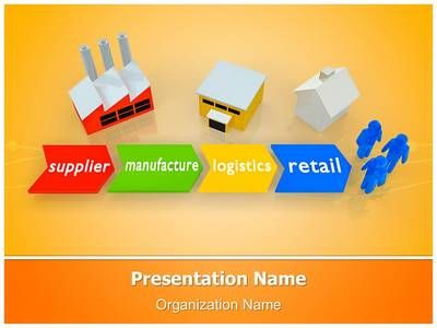 Supply Chain Management Powerpoint Template is one of the