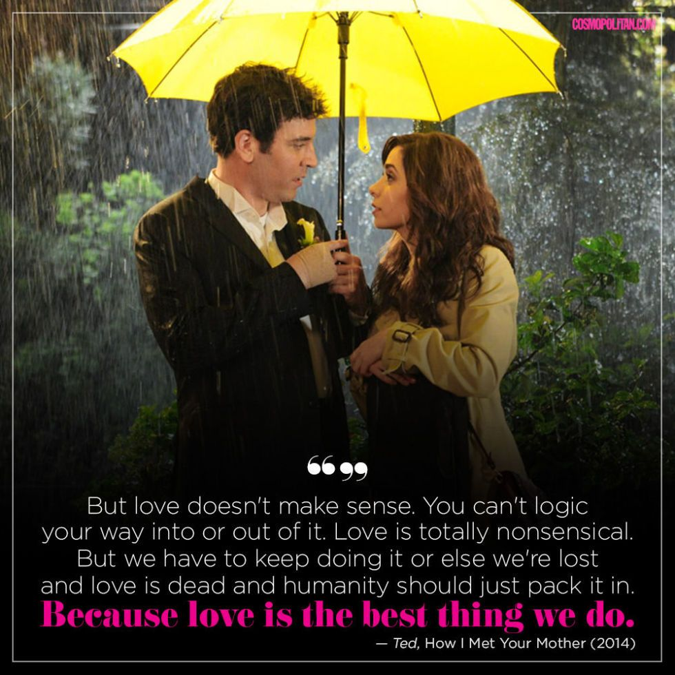 Love Is The Best Wisdom: 15 Crazy-Romantic Quotes From TV And Movies