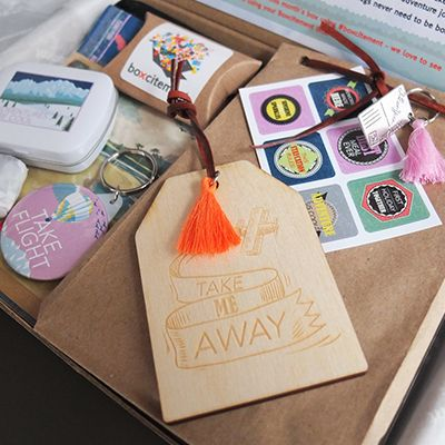 Boxcitement Subscription Box Uk Bo Monthly Mystery Stationery Gifts And Jewellery Free Delivery Craft Project