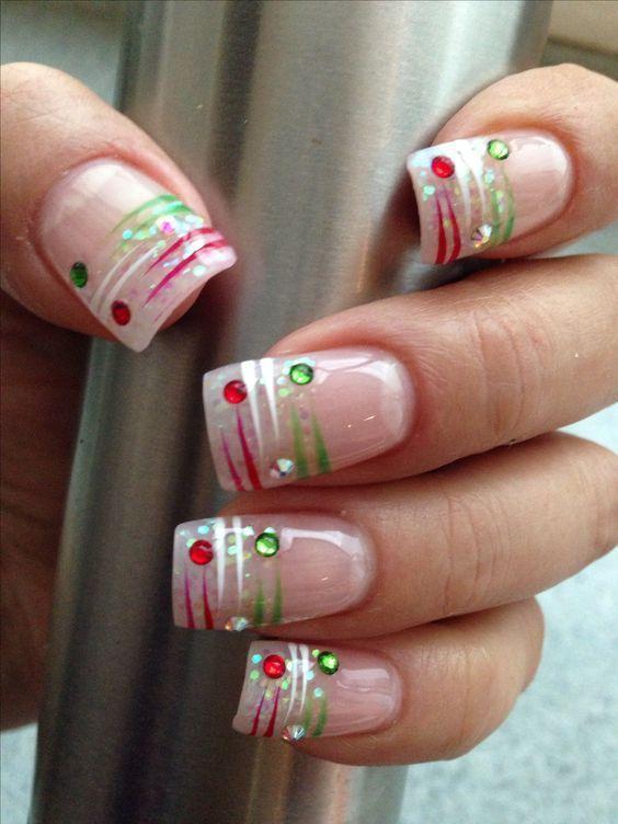 30 Christmas Nail Designs Pinterest Beauty Nails Nail Polish