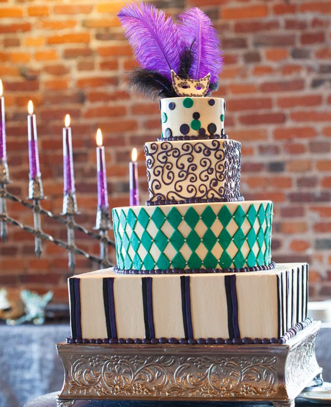 Masquerade Ball Wedding Ideas: Themed Wedding Cakes, Masquerade Cakes