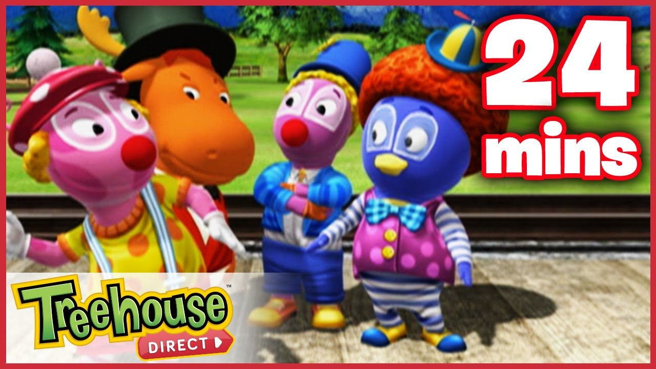The backyardigans best clowns in town ep gonoodle
