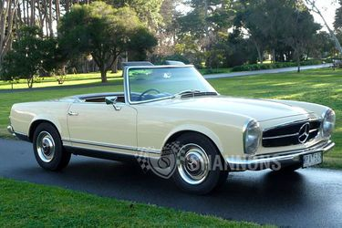 Classic Mercedes Convertible In Cream Color This Is What I Was