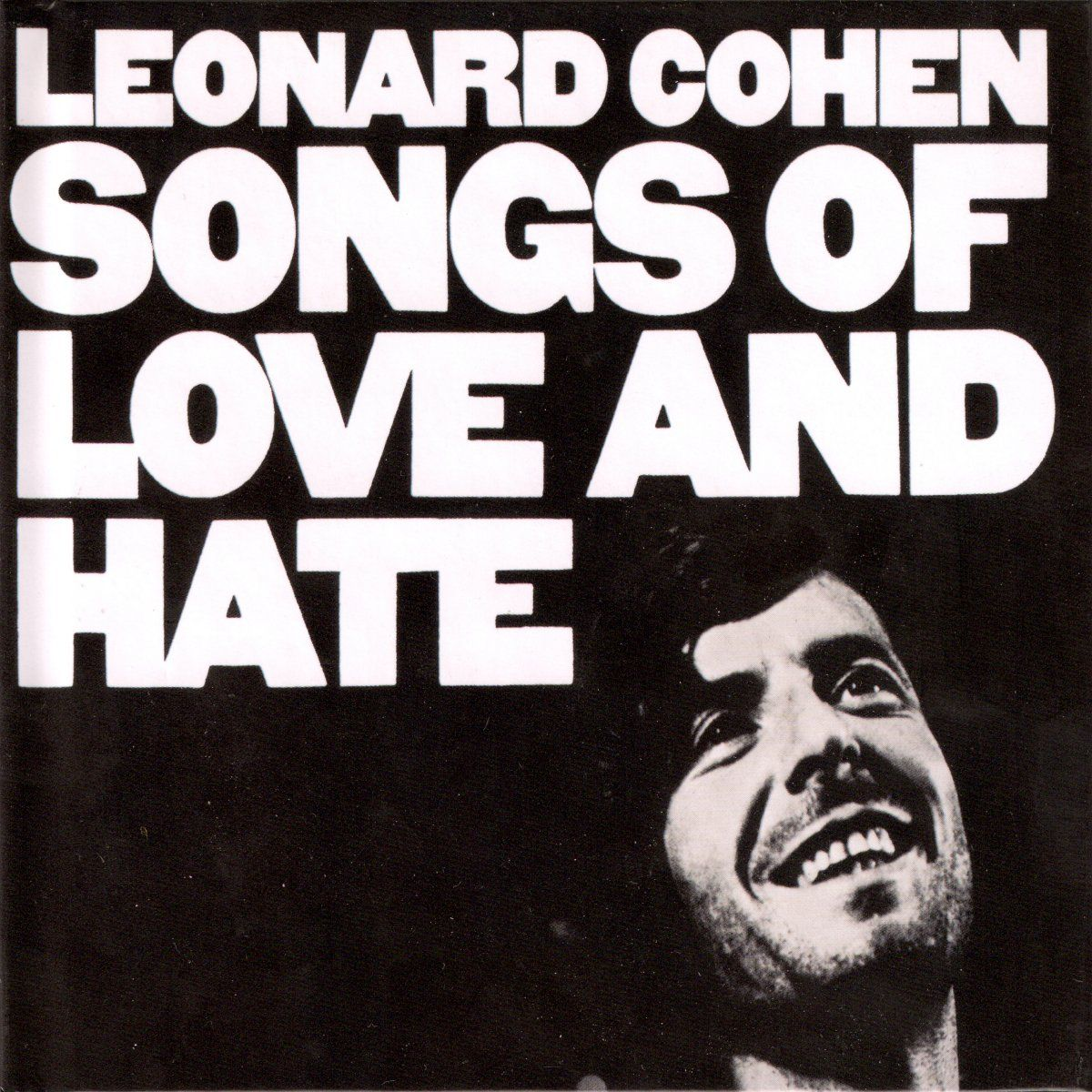 Bildresultat för leonard cohen songs of love and hate