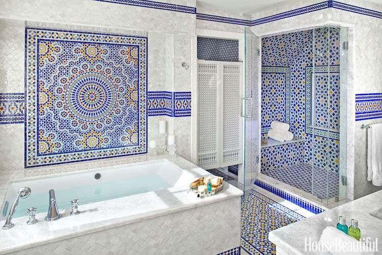 Salle de bain marocaine – 20 idées sur les incontournables déco à ...