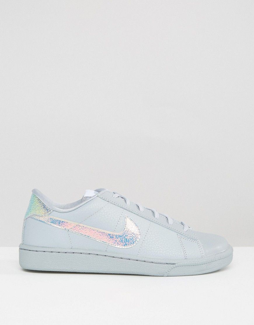 Nike Classic Trainers In Holographic Grey | Nike, Nike