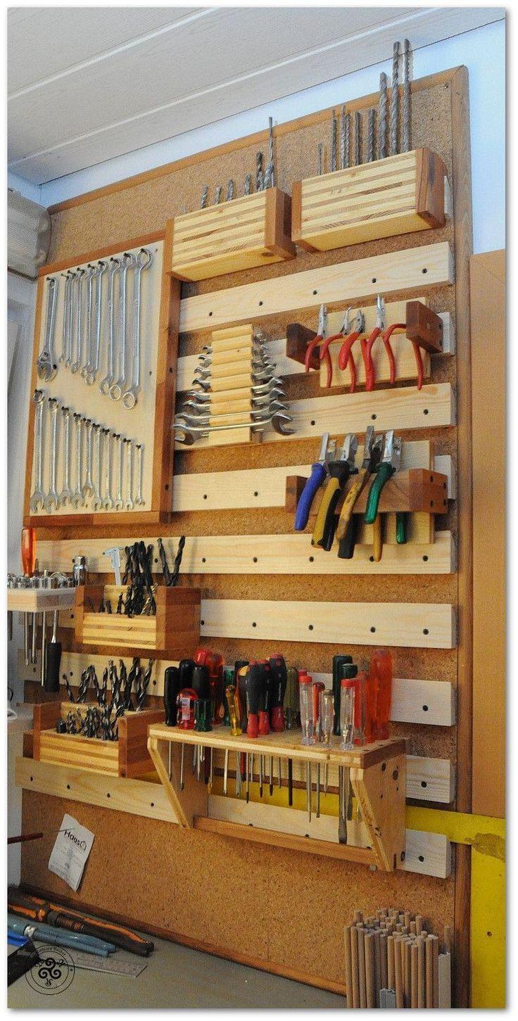 11 idées pour une bonne organisation d'atelier   Organisation de garage, Rangement outils ...