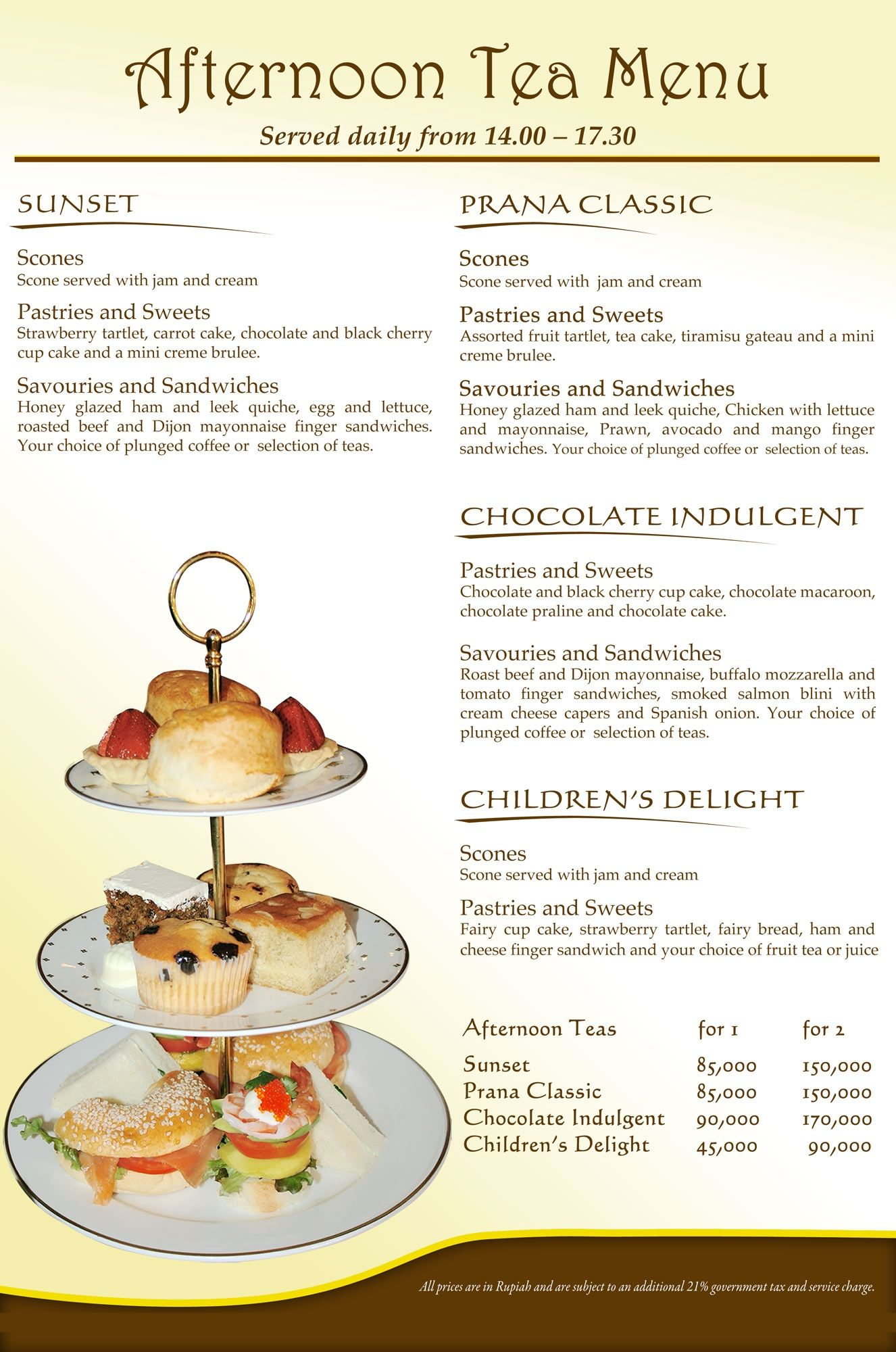 High tea menus and recipes - Have You Experienced Afternoon Tea In Prana Restaurant Yet Our Chef Has Created 4 Magnificent Menus Including A Loose Leaf Tea Selection