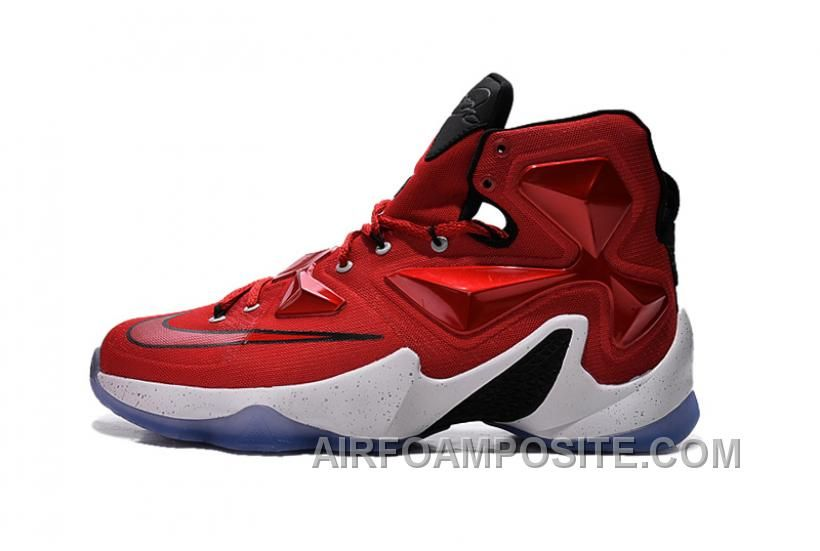 969dfb09bb9 Buy Nike LeBron 13 Away University Red Black White And Laser Orange from  Reliable Nike LeBron 13 Away University Red Black White And Laser Orange  suppliers.
